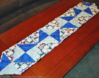 50% OFF Quilted Christmas Table Runner - Santa By Any Other Name Was 55.00