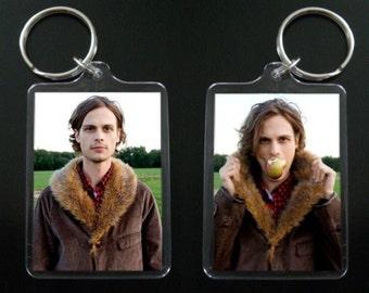 Matthew Gray Gubler keychain / keyring