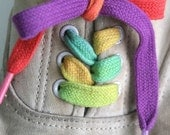 Rainbow Shoe Laces- Small