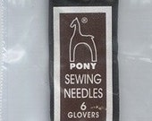 Glovers sewing needles size 6 ( 25pk ) BN16