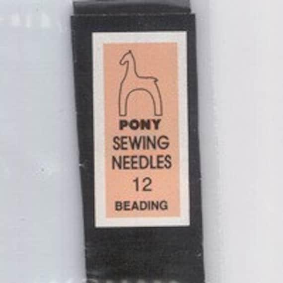 Beading needles size 12 longs 25pk BN18
