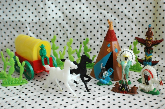 cowboy and indian wedding cake topper cowboys and indians cake topper set by lovelyvintage on etsy 13023