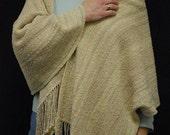 Handwoven Shawl - Fair Maiden