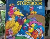 Vintage hc book The Sesame Street Bedtime Storybook 1978