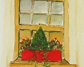 Winter windowbox