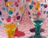 party glasses, set of 4