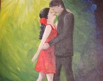 Sway--original acrylic painting