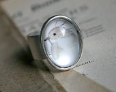 Bird Ring - Phoebe Adjustable Art Ring