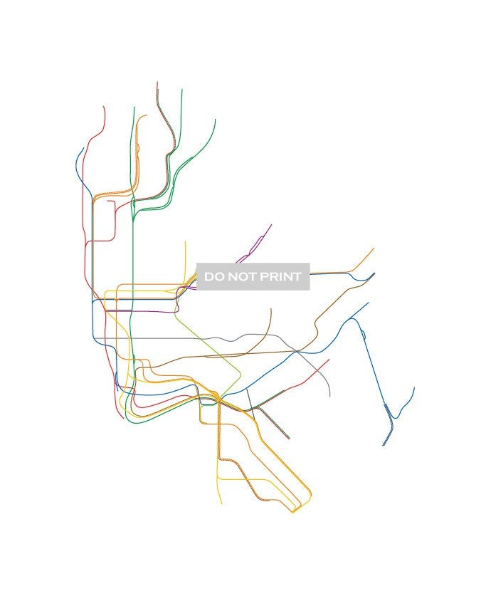Nyc Subway Map Art