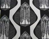 Screenprinted fabric piece 50x50 cm
