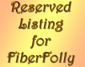 Reserved for FiberFolly - Special Order Hackle Comb Combo