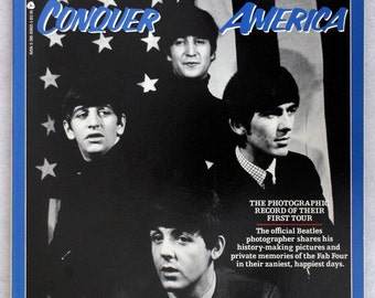 FREE SHIPPING 1985 The Beatles Conquer America by Dezo Hoffmann