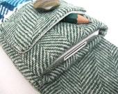 iPhone 4 Case Reykjavik Handmade Vintage Fabric iSockit