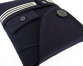 New iPad 3 Cover Handmade Vintage Military Wool Sailor iSockit