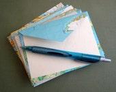 Around the World Map Envelopes, 3.5 x 5 by PrairiePeasant