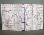 World Time Zones Travel Journal with Lined Pages by PrairiePeasant