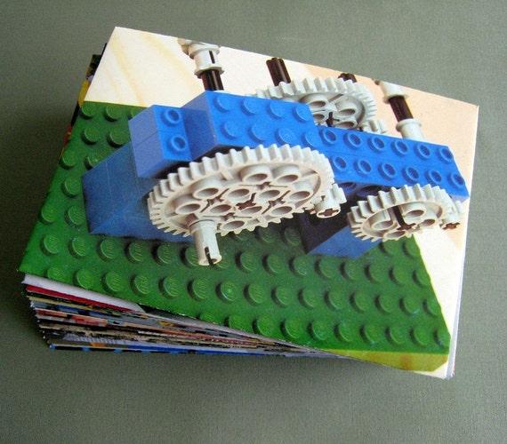 Lego Envelopes, 3.5 x 5 set of 10 by PrairiePeasant