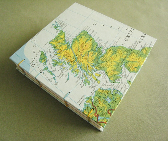Custom Order for Erin / Scotland Travel Journal by PrairiePeasant