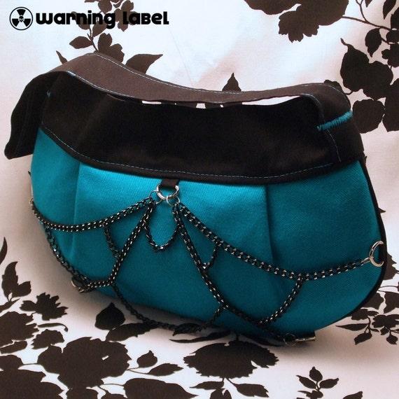 SALE 10 DOLLARS OFF Custom BLACK WIDOW Clutch Bag - You Choose The Color