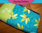 PDF  Easy to Sew  Crimp Style Clutch  with Formula for Any Size
