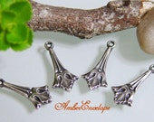 Trinity Tiny Fleur-de-Lis Drop 4 pcs. F235-AS