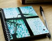 blank notebook - window