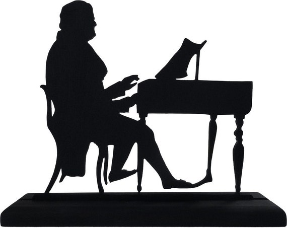 Man Playing Piano Silhouette Man playing the piano handmadePlaying Piano Silhouette