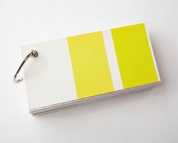 Lemon Lime Notepad, Eco Friendly