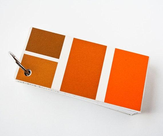 1970's Shag Brown, Vintage Pantone, Notebook