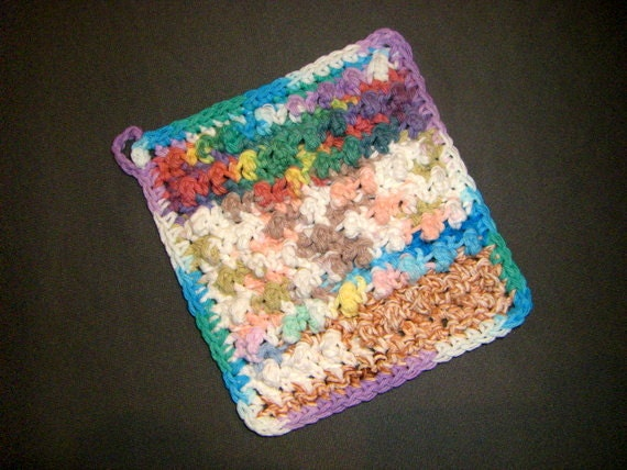 Chakra Mix - Jumbo Bumpy Cotton Washcloth Dishcloth