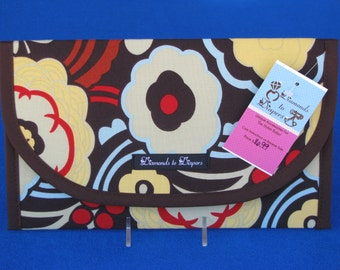 Mocca Diaper and Wipes Case Holder Clutch