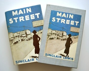 Main Street by Sinclair Lewis - FEL Edition in Slipcase