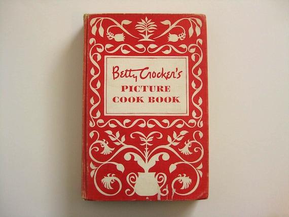 ANNIVERSARY SALE 1950's Betty Crocker's Picture Cook Book