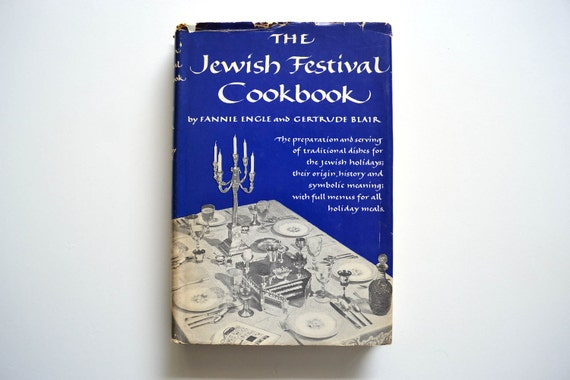 The Jewish Festival Cookbook - 1954