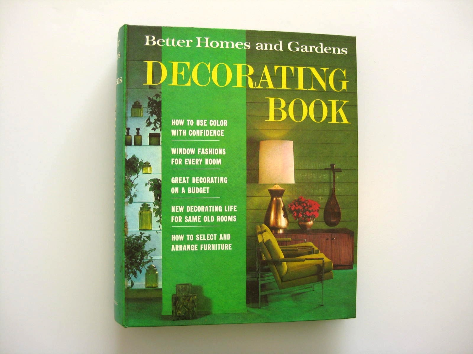 1968 better homes and gardens decorating book great - Better homes and gardens cookbook 1968 ...