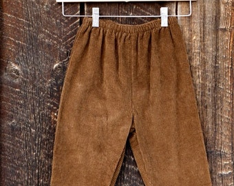 Boys Corduroy Pant with Elastic Waist