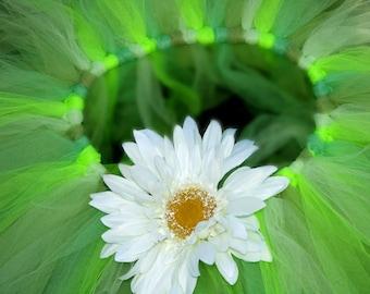 Green Girls Tutu Princess Costume Photoprop Dance Ballet