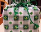 St. Patricks Day Print Fabric Kleenex Tissue Cover