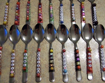 Flatware - Personalized Spoons - Birthday Party Favors