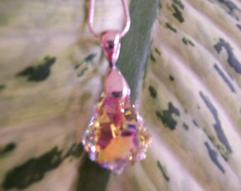 Crystal AB Pendant Swarovski
