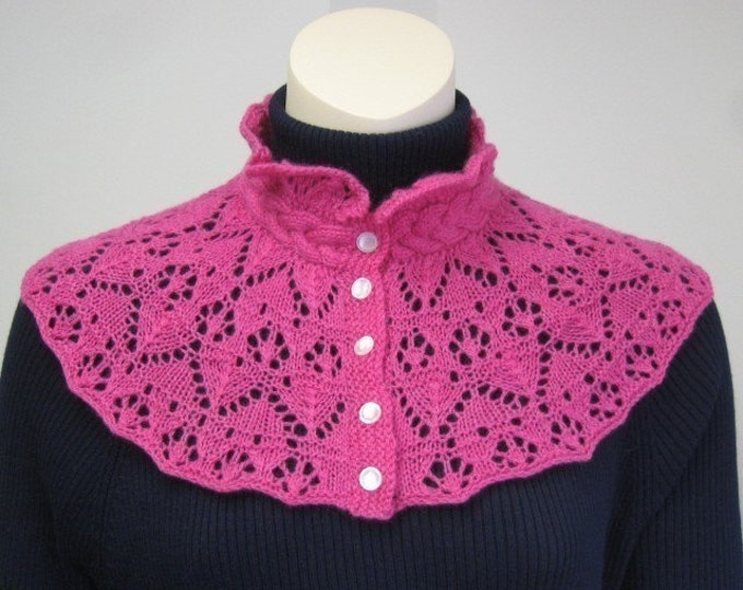 pdf pattern for a Victorian Lace Collar by Elizabeth Lovick - instant download
