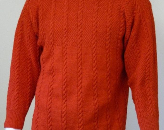 pdf pattern for the Thorfinn Gansey by Elizabeth Lovick in Frangipani 5 ply wool - instant download