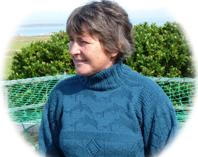 pdf pattern for the Dolphin Gansey Tunic by Elizabeth Lovick - instant download