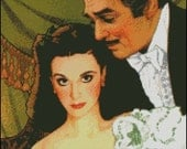 GONE WITH the WIND cross stitch pattern No.198