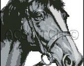 HORSE  cross stitch pattern No.171