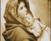 MADONNA Of THE STREETS cross stitch pattern No.258