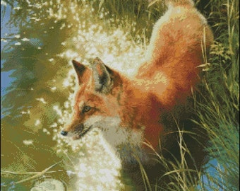 OUTFOXED cross stitch pattern No.277