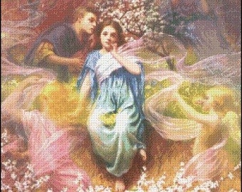 PHANTASY cross stitch pattern No.59