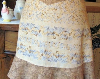 Vintage Apron|Half Apron|Vintage Chic|Housewarming|Shower gift