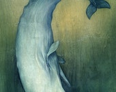 """13""""x19"""" Moby Dick or The Great Whale"""